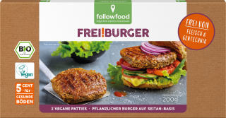 Followfood Vegan Burger 200 g