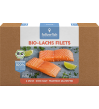 FollowFish Losos filety, 160 g