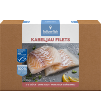 FollowFish  Treska filety, 225 g