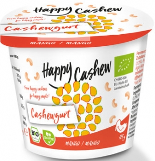 Happy Cashew Mango jogurt