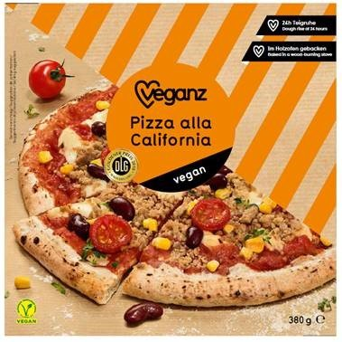 Veganz Pizza California 380g